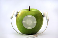 Jogador de Apple Imagem de Stock