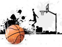 Jogador de basquetebol Foto de Stock Royalty Free