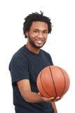 Jogador de basquetebol foto de stock