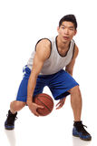 Jogador de basquetebol Fotografia de Stock