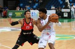 Jogador de basquetebol Leandrinho fotos de stock royalty free
