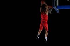 Jogador de basquetebol na ação Fotos de Stock