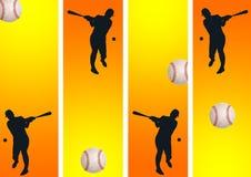 Jogador de beisebol 09 Ilustração do Vetor