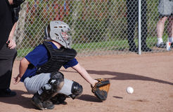 Jogador de beisebol Fotografia de Stock Royalty Free
