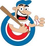 Jogador de beisebol Fotografia de Stock