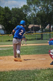 Jogador de beisebol adolescente Imagem de Stock