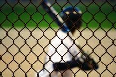 Jogador de beisebol adolescente Imagens de Stock Royalty Free