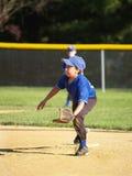 Jogador de beisebol da liga júnior Imagens de Stock Royalty Free