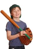 Jogador de beisebol de sorriso Imagem de Stock