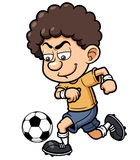 Jogador de futebol Imagens de Stock