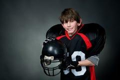 Jogador de futebol americano imagens de stock royalty free