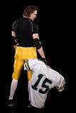Jogador de futebol americano Fotografia de Stock