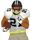 Jogador de futebol americano Imagem de Stock