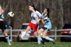 Jogador de futebol da juventude Foto de Stock