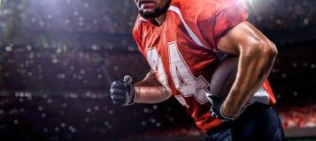 Jogador de futebol de Americam imagem de stock royalty free