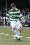 Jogador de futebol do futebol Imagem de Stock Royalty Free