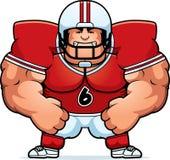 Jogador de futebol irritado dos desenhos animados Imagens de Stock
