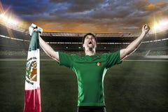 Jogador de futebol mexicano imagens de stock royalty free