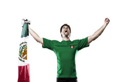Jogador de futebol mexicano foto de stock