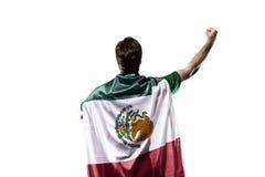 Jogador de futebol mexicano Imagens de Stock