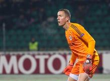 Jogador de futebol profissional Hannes Halldorsson fotos de stock