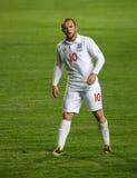 Jogador de futebol Rooney Foto de Stock