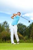 Jogador de golfe imagens de stock royalty free