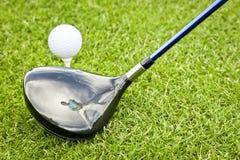Jogador de golfe fotografia de stock royalty free
