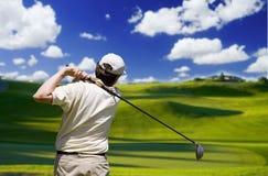 Jogador de golfe Foto de Stock