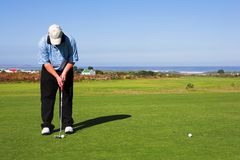 Jogador de golfe #55 Fotos de Stock