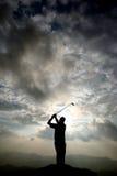 Jogador de golfe Imagem de Stock