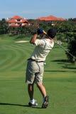 Jogador de golfe Fotografia de Stock