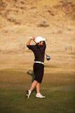 Jogador de golfe novo Fotografia de Stock Royalty Free
