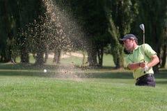 Jogador de golfe profissional Alexandre Rocha foto de stock royalty free