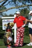Jogador de golfe profissional de John Daly Foto de Stock
