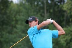 Jogador de golfe profissional Inder camionete Weerelt fotos de stock