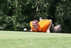 Jogador de golfe profissional Joakim Haeggman fotos de stock