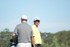 Jogador de golfe profissional verde de Nathan Foto de Stock