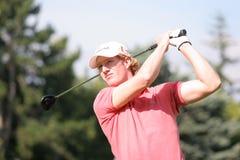 Jogador de golfe profissional Wil Besseling imagem de stock royalty free