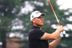 Jogador de golfe Robert Karlsson Fotografia de Stock