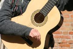 Jogador de guitarra Imagens de Stock