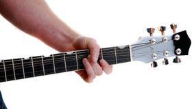 Jogador de guitarra Foto de Stock