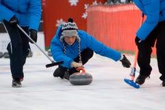 Jogador de ondulação Pavel Mishin Fotografia de Stock Royalty Free