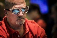 Jogador de pôquer imagens de stock