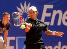 Jogador de ténis colombiano Santiago Giraldo Fotos de Stock Royalty Free