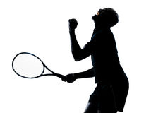 Jogador de ténis do homem Fotos de Stock Royalty Free