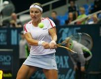 Jogador de ténis do russo de Svetlana Kuznecova Fotografia de Stock Royalty Free
