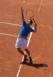 Jogador de ténis espanhol Albert Ramos Fotografia de Stock Royalty Free