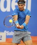 Jogador de ténis espanhol Rafa Nadal Fotos de Stock Royalty Free