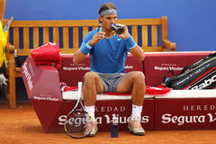 Jogador de ténis espanhol Rafa Nadal Fotografia de Stock